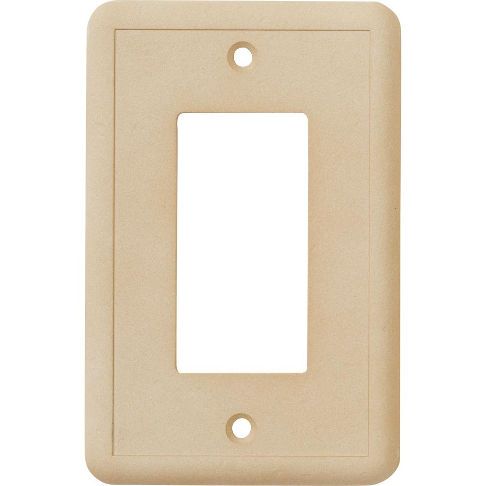 Hampton Bay 1 Gfci Wall Plate Travertine