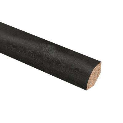 Hickory Scripps 3/4 in. Thick x 3/4 in. Wide x 94 in. Length Hardwood Quarter Round Molding