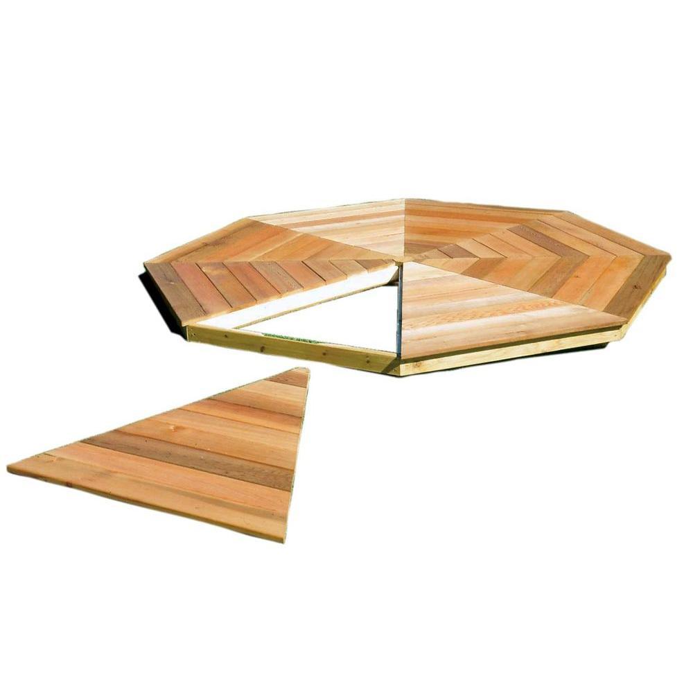 Handy Home Products San Marino 10 ft. Gazebo Floor Kit