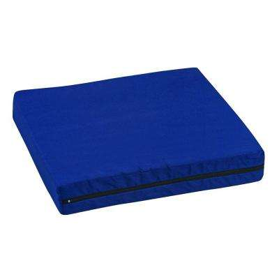 Pincore Cushion 16 in. x 18 in. x 3 in. Polyester/Cotton Cover in Navy