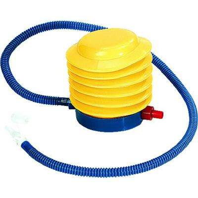 Bright Yellow and Blue Portable Foot Pump for Pool and Spa