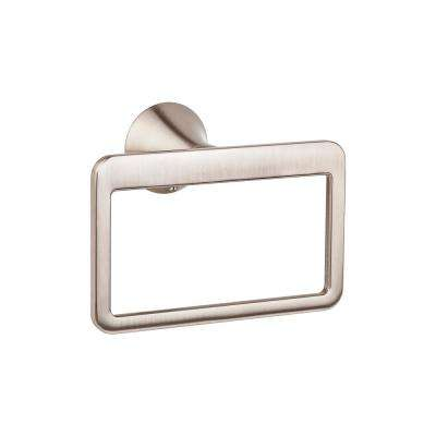 Brea Towel Ring in Brushed Nickel