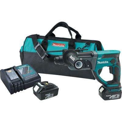 18-Volt LXT Lithium-Ion 7/8 in. Cordless Rotary Hammer Kit