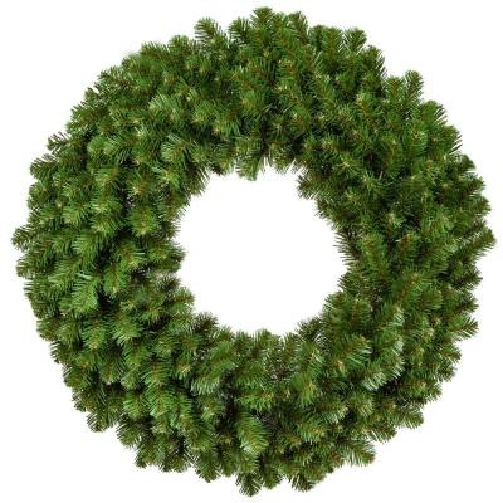 Sequoia Fir 30 in. Unlit Artificial Commercial Wreath
