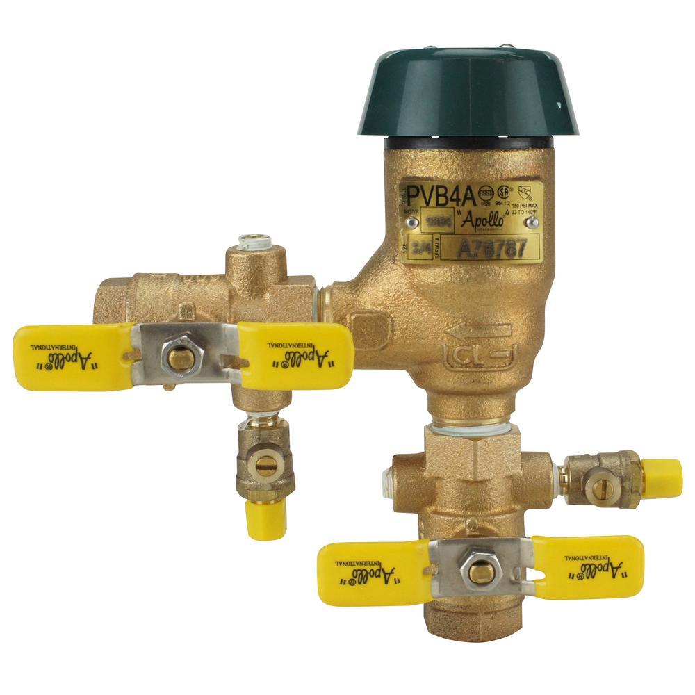 3/4 in. Bronze FIP Pressure Vacuum Breaker