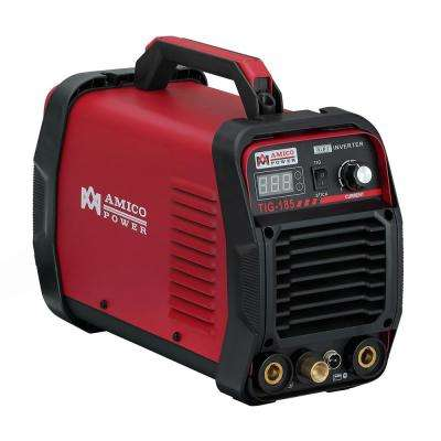 Amico 180 Amp High Frequency TIG Torch/Stick/ARC DC Inverter Welder 115/230-Volt Dual Voltage Welding
