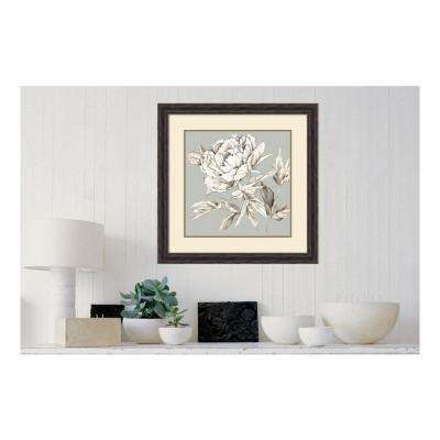 27.38 in. W x 27.38 in. H Botanical III by Eva Watts Printed Framed Wall Art