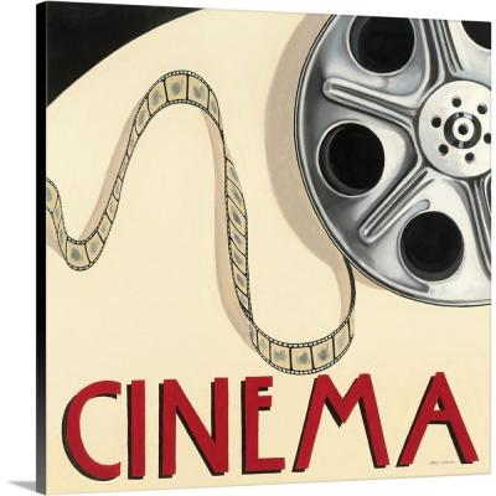 """Cinema"" by Marco Fabiano Canvas Wall Art"