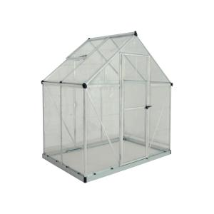 Polycarbonate Greenhouse in Silver  sc 1 st  The Home Depot & King Canopy 10 ft. W x 10 ft. D Greenhouse-GH1010 - The Home Depot