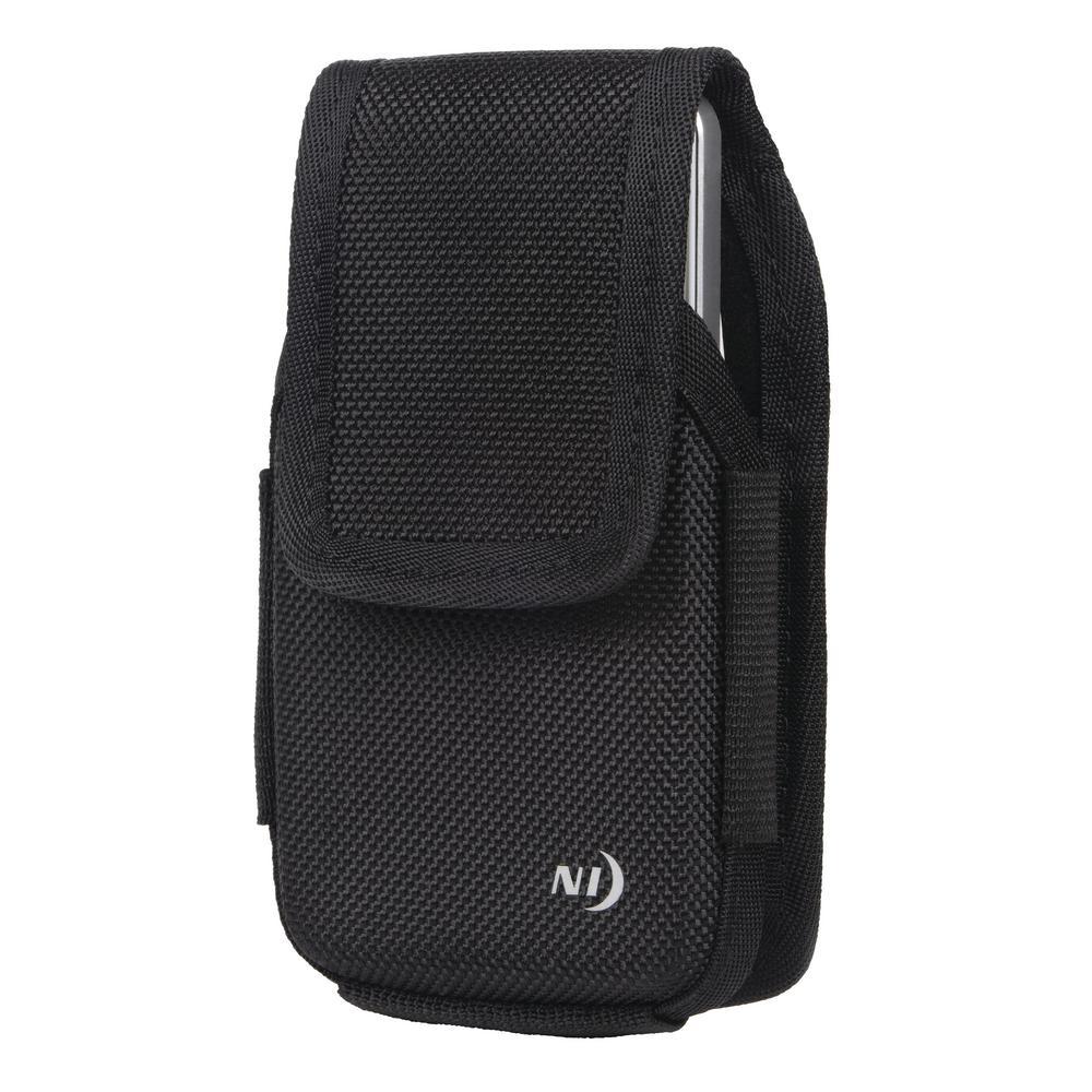 X-Large Clip Case Hardshell Universal Rugged Holster, Black