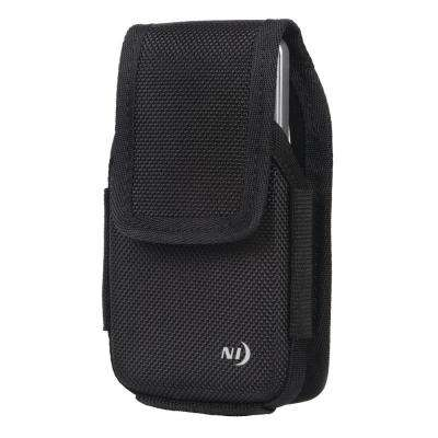 X-Large Clip Case Hardshell Universal Rugged Holster, Black