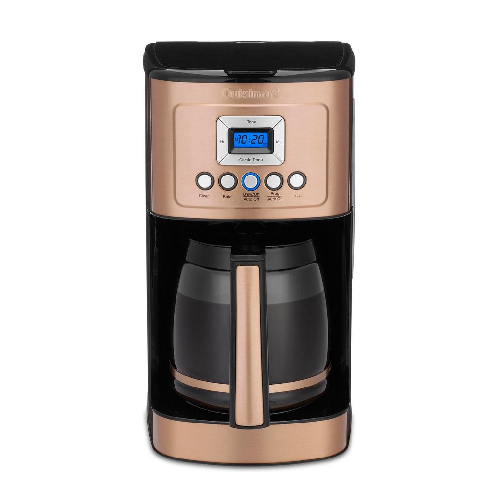 Cuisinart New Copper Collection 14 Cup Programmable Coffeemaker