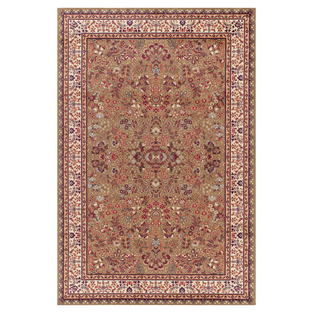 Concord Global Trading Jewel Sarouk Green 6 ft. 7 in. x 9 ft. 3 in. Area Rug