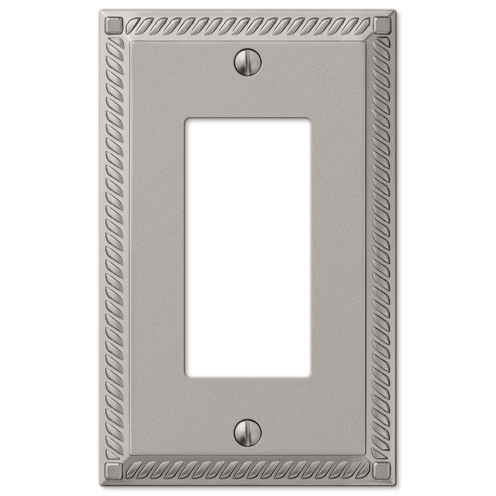 Hampton Bay Acrylic Mirror 1 Decora Wall Plate 66rhb The