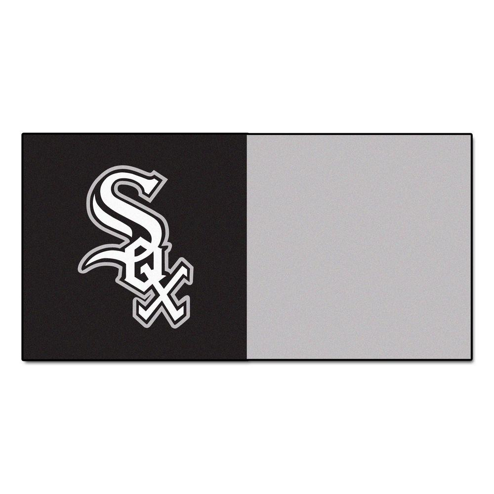 MLB - Chicago White Sox Black and Grey Nylon 18 in.