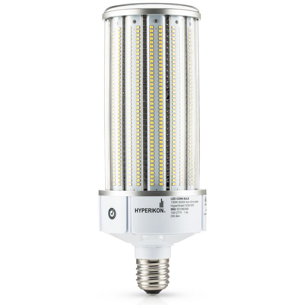 Hyperikon 150w Led Corn Bulb Street Light Bulbs Cob 750w Equivalent Large Mogul E39