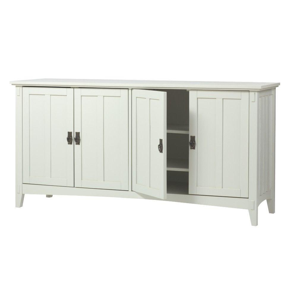 Home Decorators Collection Artisan White Buffet-SK18514-W