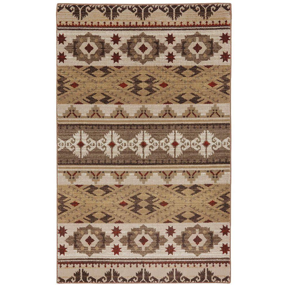 American Rug Craftsmen Yuma Dark Butter 9 ft. 6 in. x 12 ft. 11 in. Area Rug
