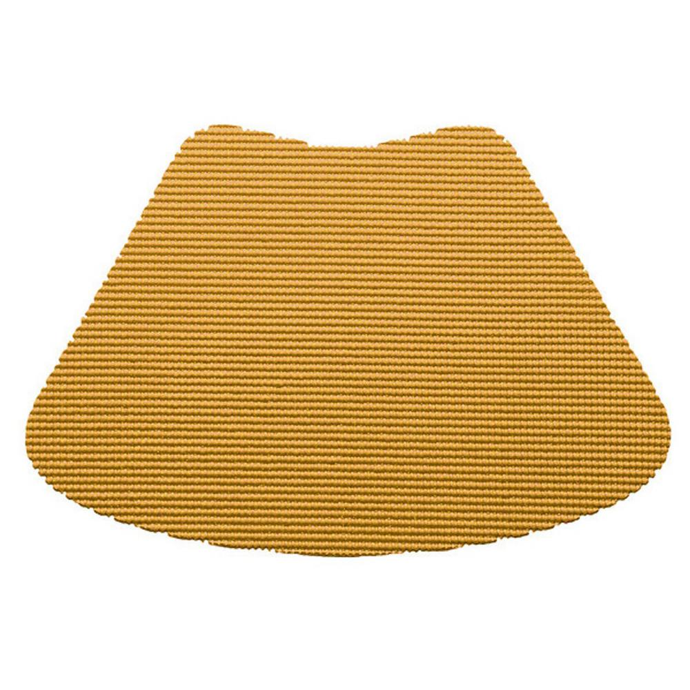 Kraftware Fishnet Wedge Placemat in Golden (Set of 12)