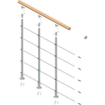 Rome Balcony Railings Continuous Pack