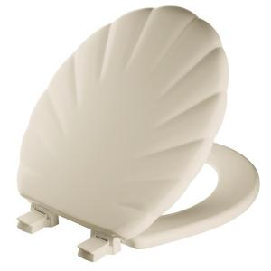 Mayfair Round Closed Front Toilet Seat in Bone by Mayfair