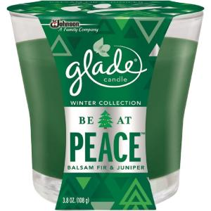 Winter Collection 3.8 oz. Be At Peace Holiday Scented Candle