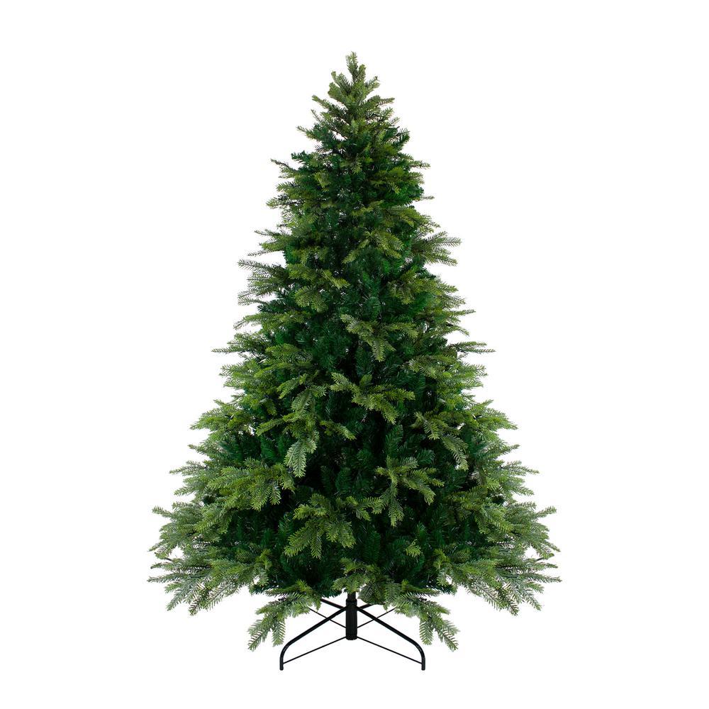 7.5 ft. Unlit Woodcrest Pine Artificial Christmas Tree