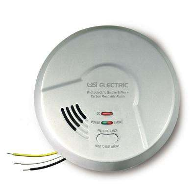 10 Year Sealed Battery Backup, Hardwired, 2-In-1 Smoke And Carbon Monoxide Detector, Microprocessor Intelligence
