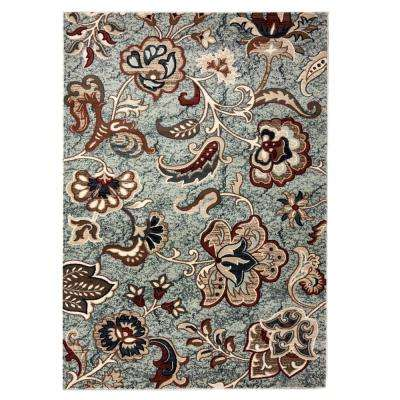 Layla Multi 8 ft. x 10 ft. Area Rug