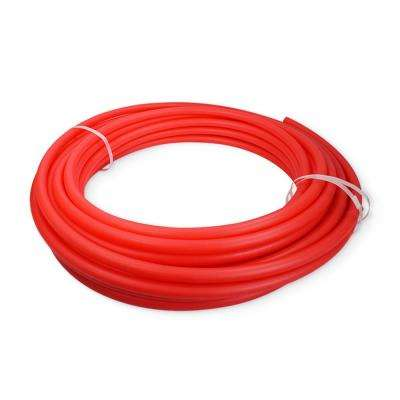 3/8 in. x 100 ft. PEX Tubing Oxygen Barrier Radiant Heating Pipe - Red