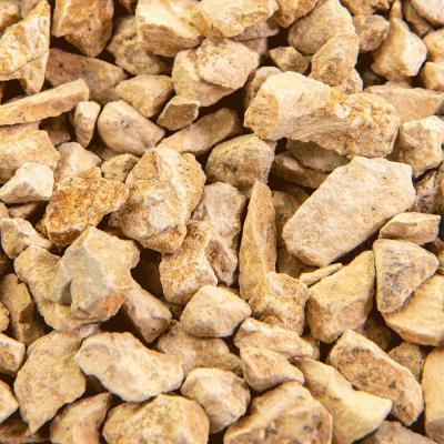 Crushed Stone Landscape Rocks Landscaping Supplies The Home Depot