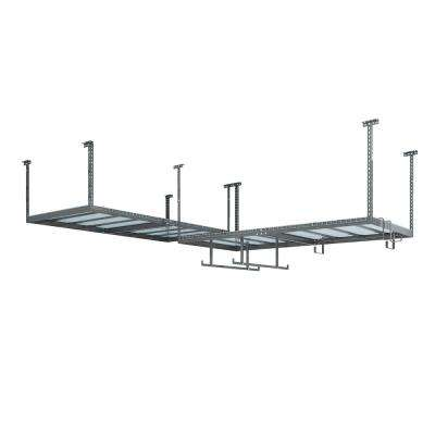 VersaRac Set with 2-Overhead Rack and 12-Piece Accessory Kit