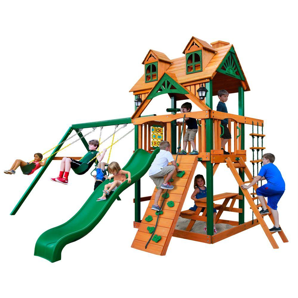 Malibu Swing Set with Timber Shield