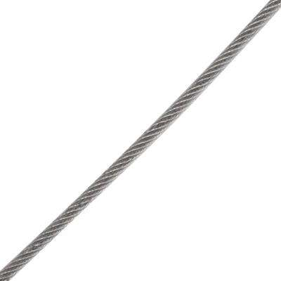 3/16 in. x 1 ft. Galvanized Vinyl Coated Wire Rope