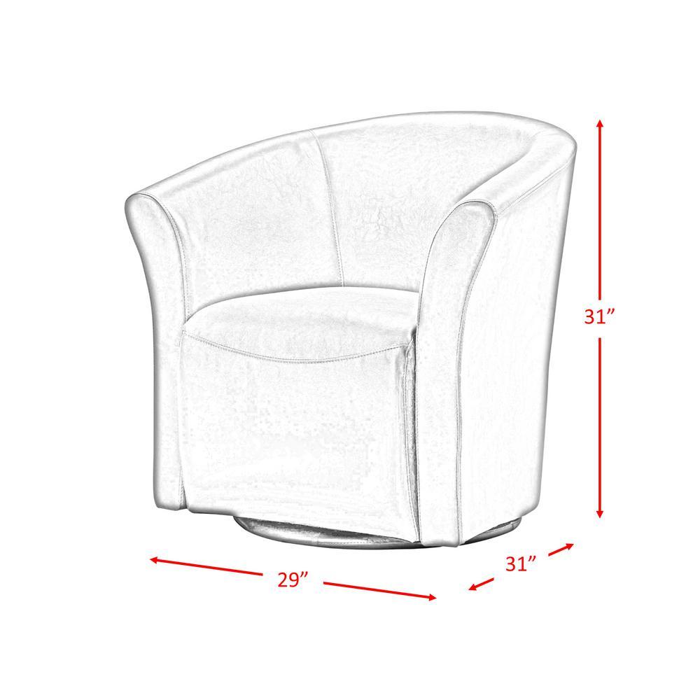 Excellent Radford Red Swivel Chair Urt891100Swca The Home Depot Beatyapartments Chair Design Images Beatyapartmentscom