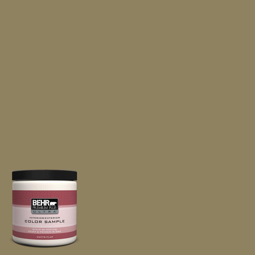 BEHR Premium Plus Ultra 8 oz. #PPU8-2 Gingko Tree Interior/Exterior Paint Sample