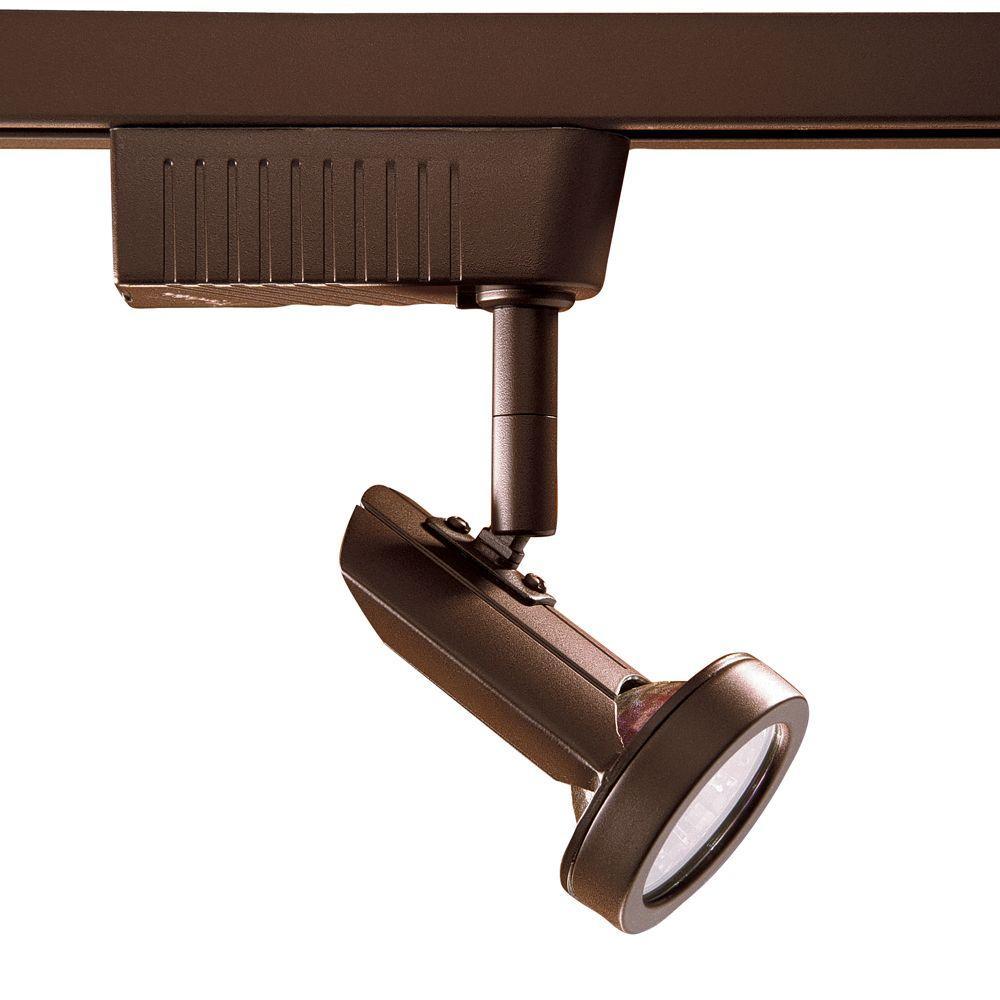 2201 Series Low-Voltage MR16 Oil-Rubbed Bronze Track Lighting Fixture