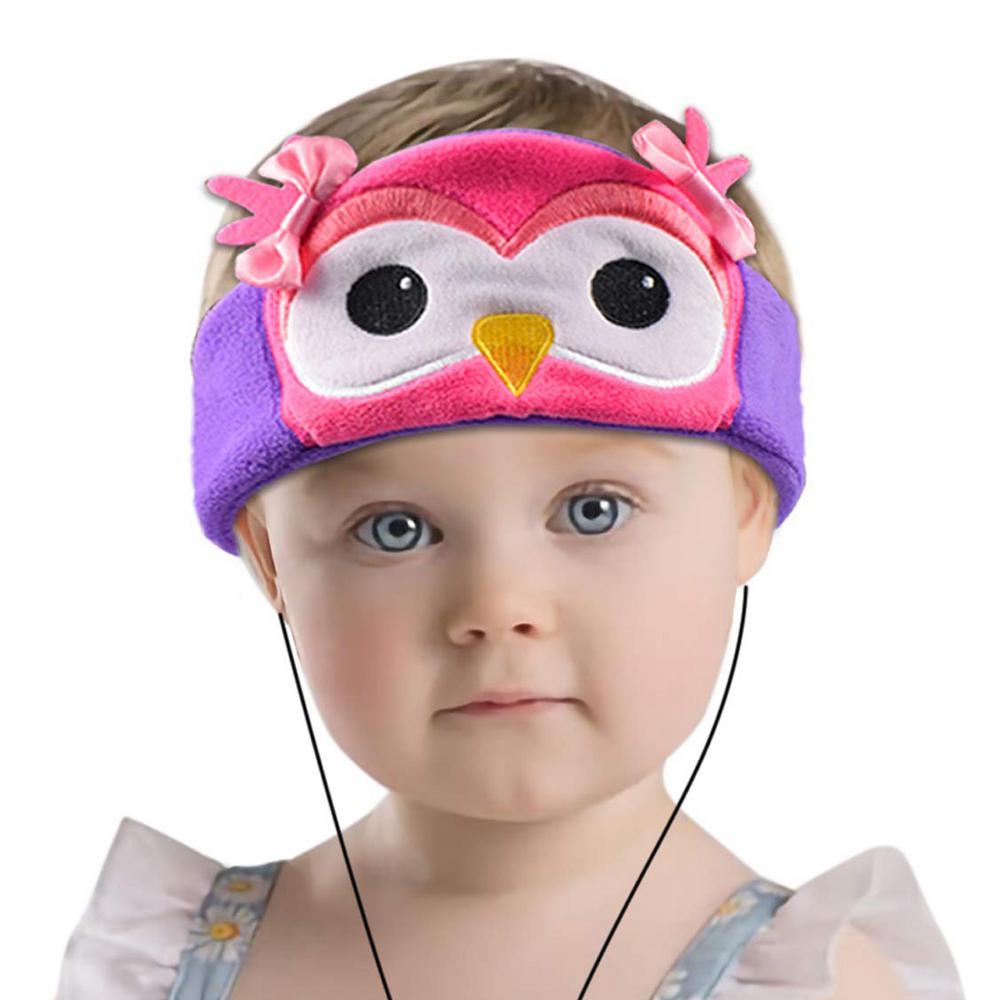 Kids Headphones Volume Limiter Machine Washable Fleece Headphones for Children Travel or Home w/ Adjustable Band (Owl) Kids Headphones Volume Limiter Machine Washable Fleece Headphones for Children Travel or Home w/ Adjustable Band (Owl)
