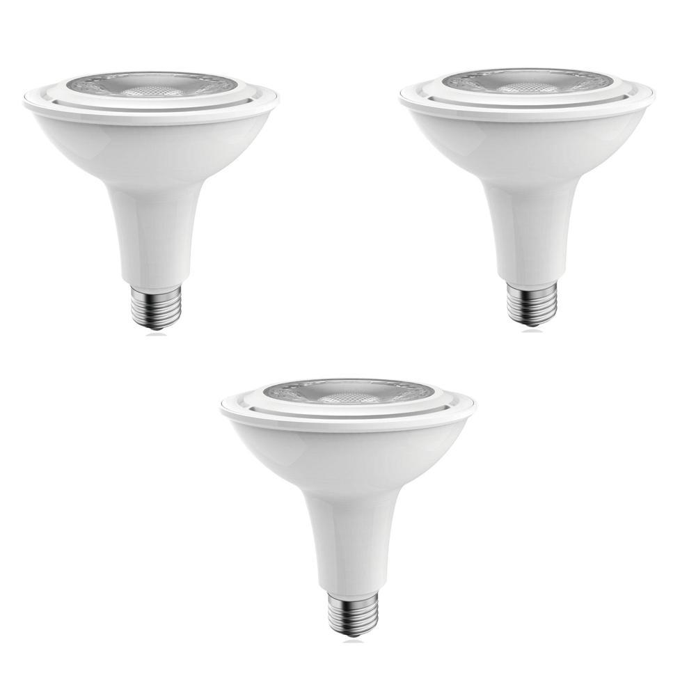 50W Equivalent Warm White PAR20 Dimmable LED Light Bulb (3-Pack)