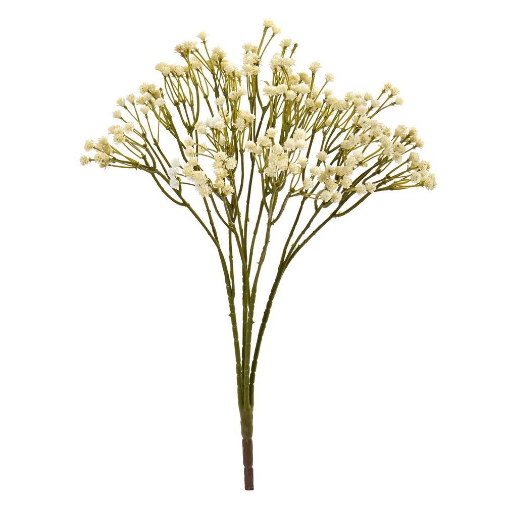 Indoor 16 Gypsophila Spray Artificial Flower (Set of 12)