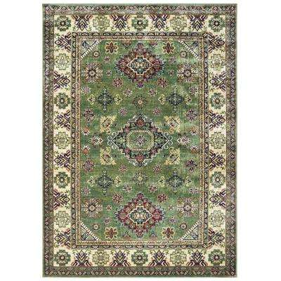 United Weavers Royalton Richmond Green 5 ft. 3 in. x 7 ft. 6 in. Area Rug