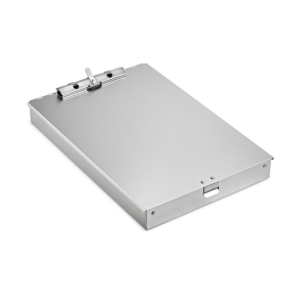 1.5 in. Bin Aluminum Form Storage Clipboard