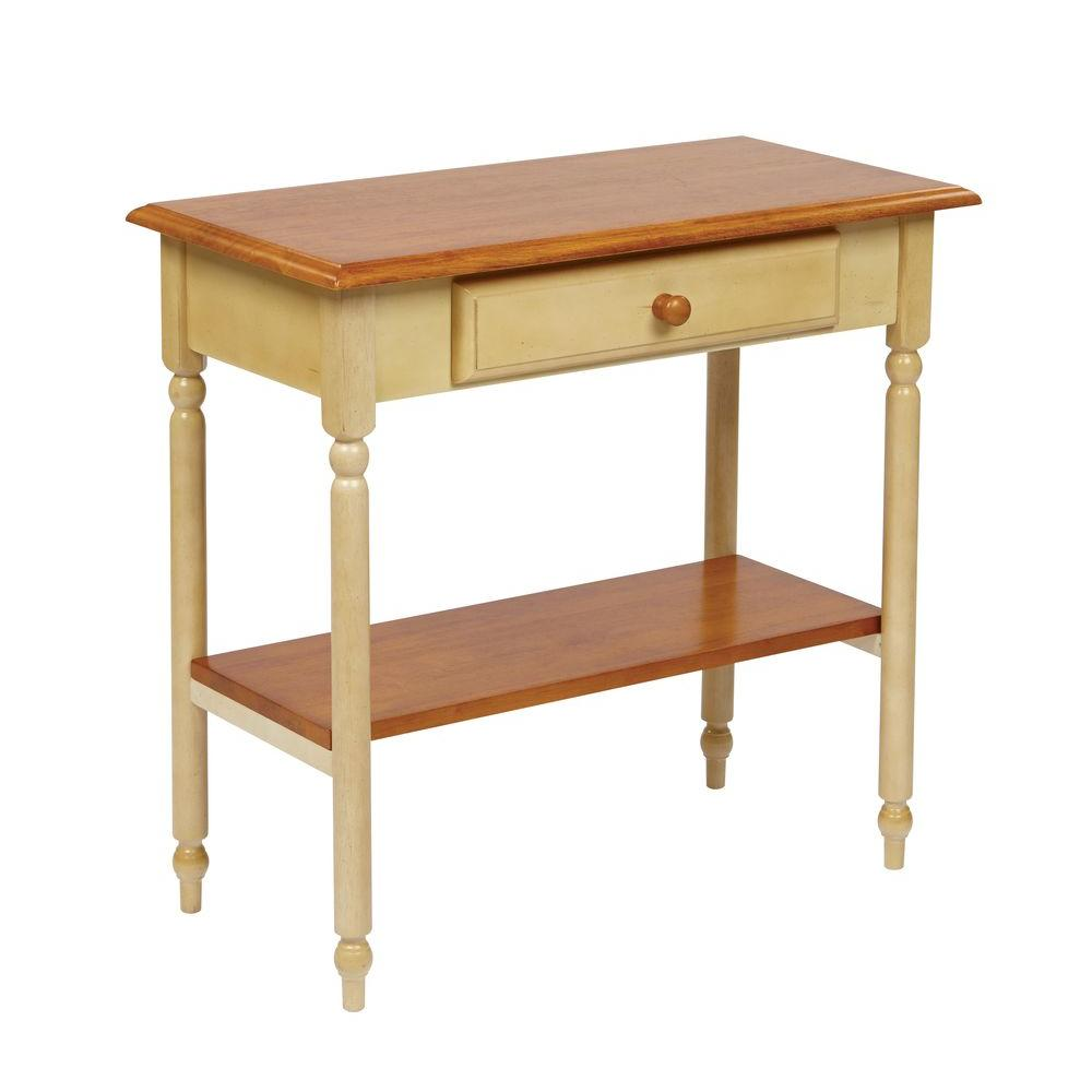 Home Depot Foyer Table : Ospdesigns tan storage console table cc the home depot