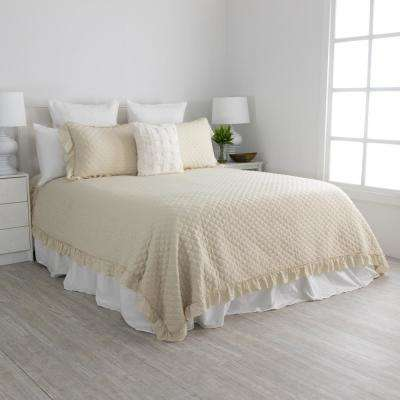 Caleb Sand Twin Quilt Set