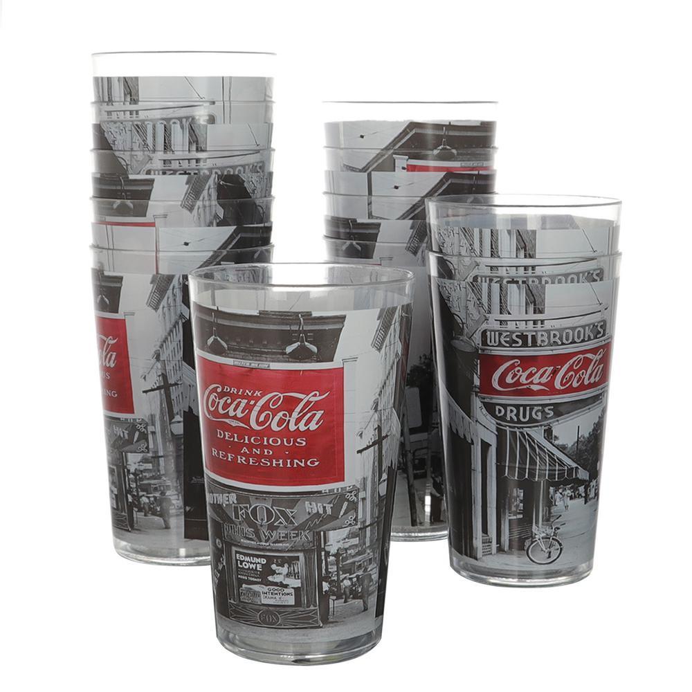 Coke Noir 19 oz. Tumbler Cups (12-Pack)