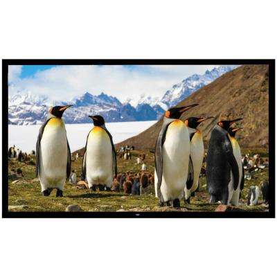 110 in. Fixed Wall-Mount Projector Screen
