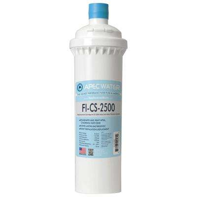 CS-Series 5,000 Gal. Replacement Filter for CS-2500 High Capacity Under-Counter Water Filtration System