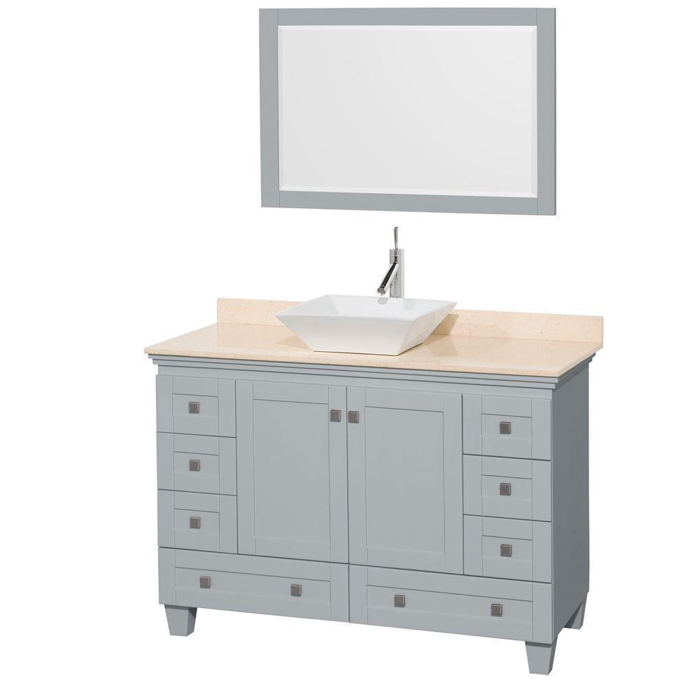 Glacier Bay - Vanities with Tops - Bathroom Vanities - The Home Depot