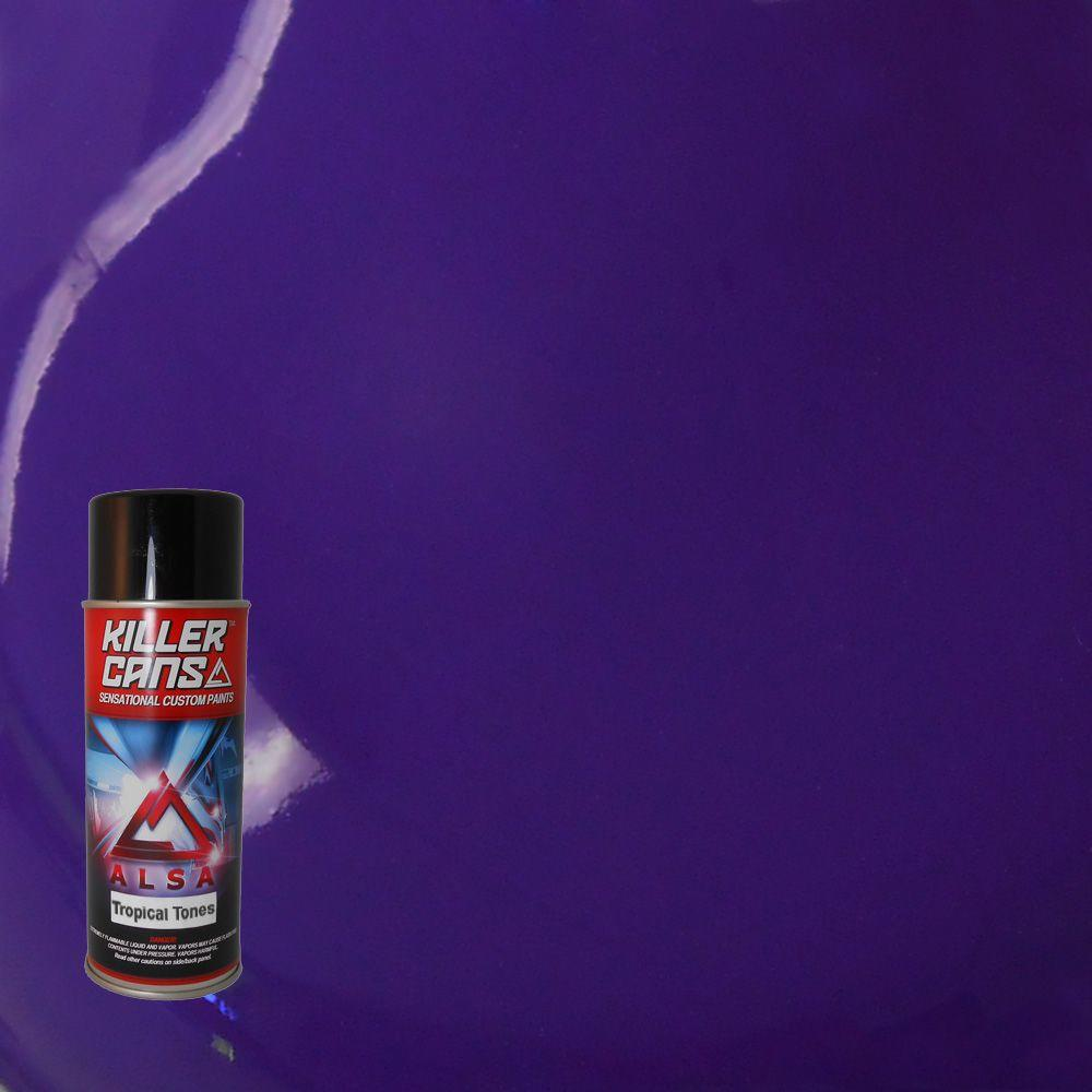 Alsa Refinish 12 Oz Tropical Tones Orchid Purple Killer Cans Spray Paint Kc Tt 08 The Home Depot