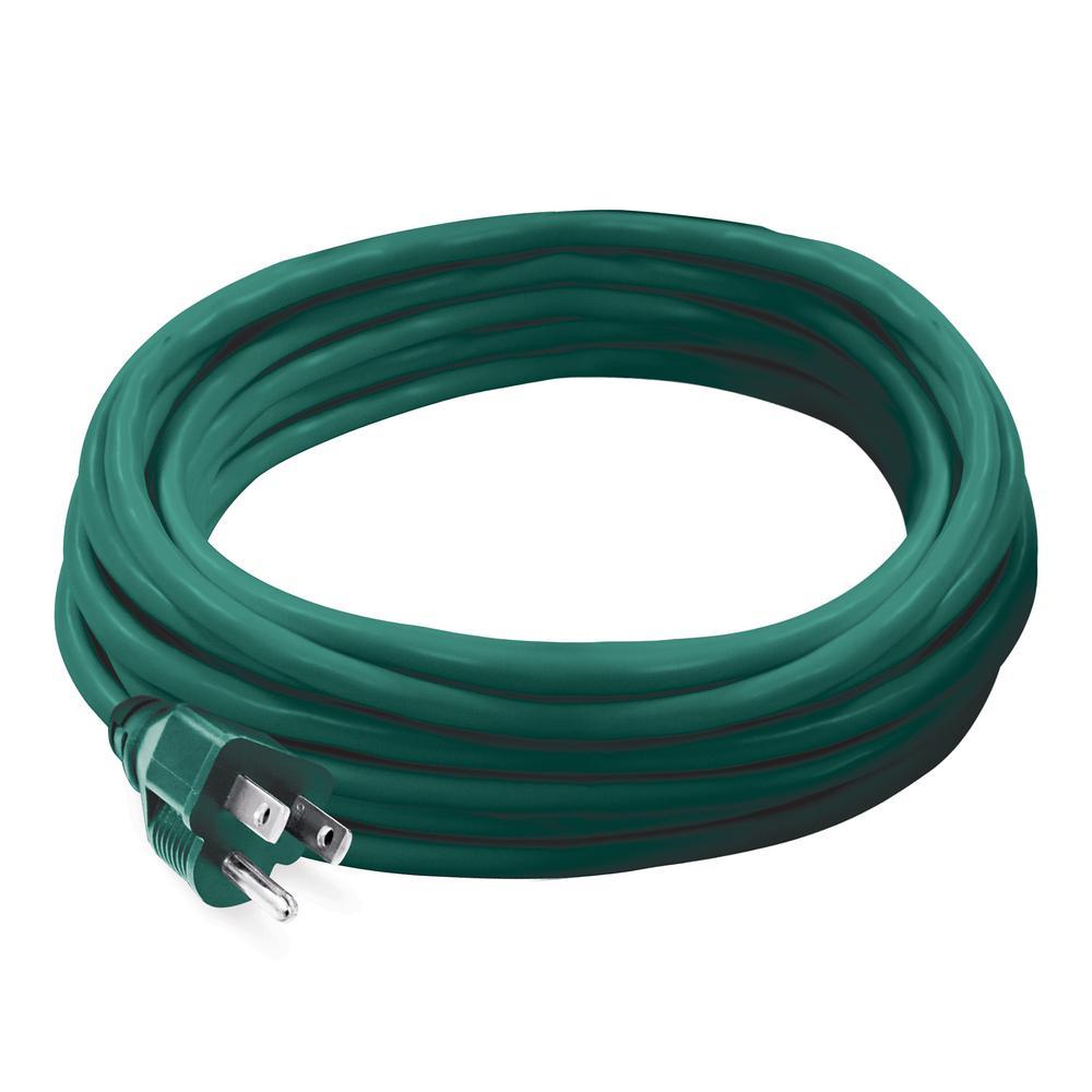 20 ft. 16/3 Indoor/Outdoor Extension Cord, Green